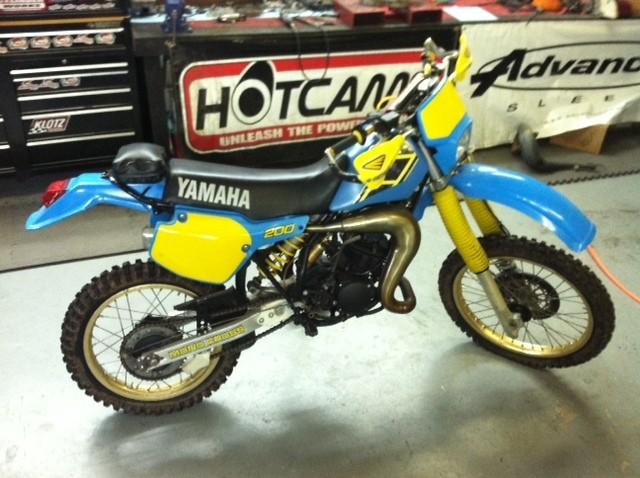 Yamaha Yz Blaster