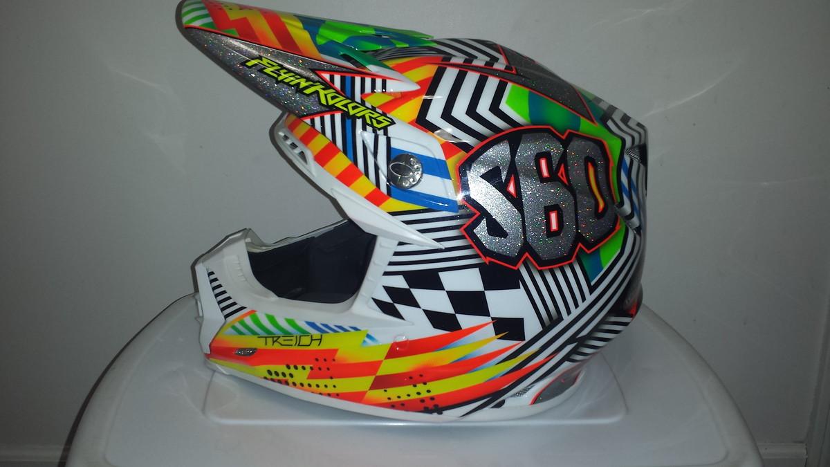 Custom Painted Helmet Thread Moto Related Motocross Forums