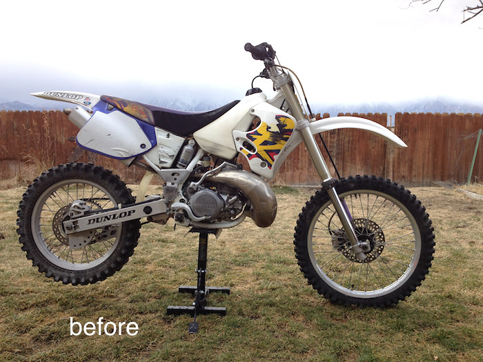 96e88a6b 1994 CR250 oem color and part no identification? - Old School Moto -  Motocross Forums / Message Boards - Vital MX