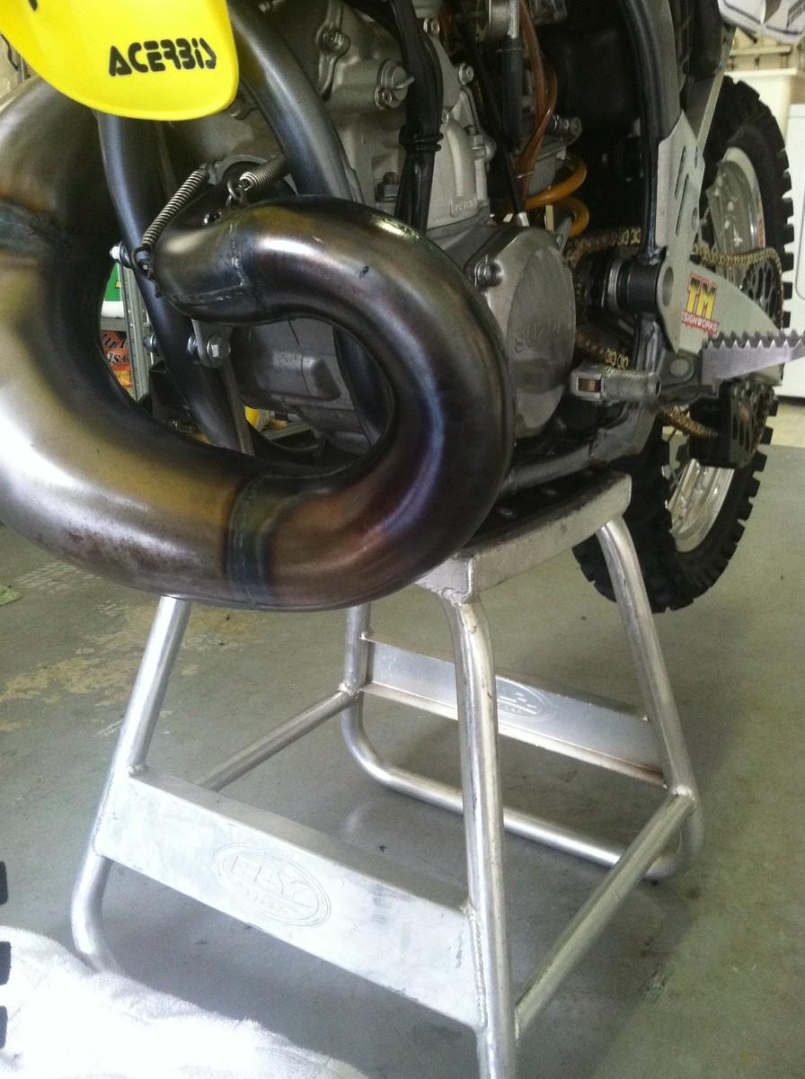 Bone Stock Rm 250 Fmf Vs Bills Pipe Moto Related