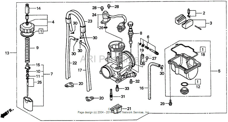 crf450r carb diagram within diagram wiring and engine