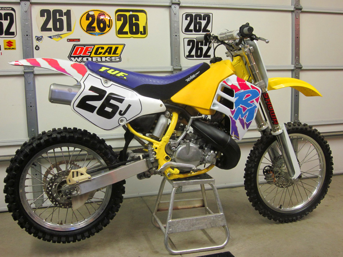91 RM yellow - Old Moto - Motocross Forums / Message Boards ...