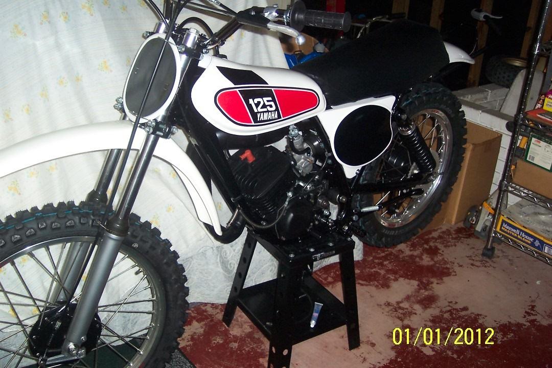 1976 Missing Team Yamaha Bike Old School Moto