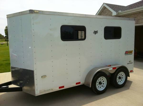 Enclosed Trailer Size Moto Related Motocross