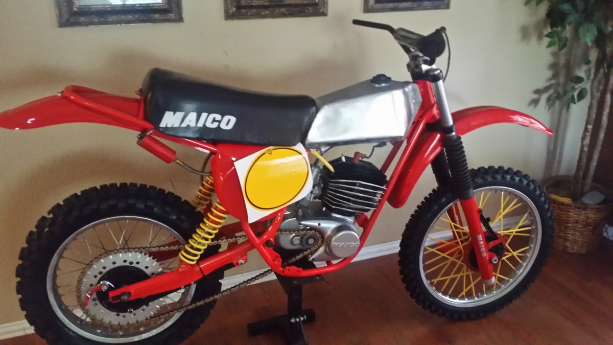 1977 maico 250 hop up tips old school moto motocross. Black Bedroom Furniture Sets. Home Design Ideas
