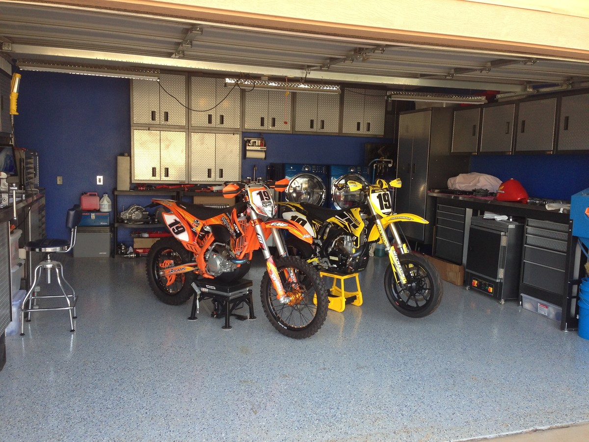 Drool Worthy Garage Old School Moto Motocross Forums