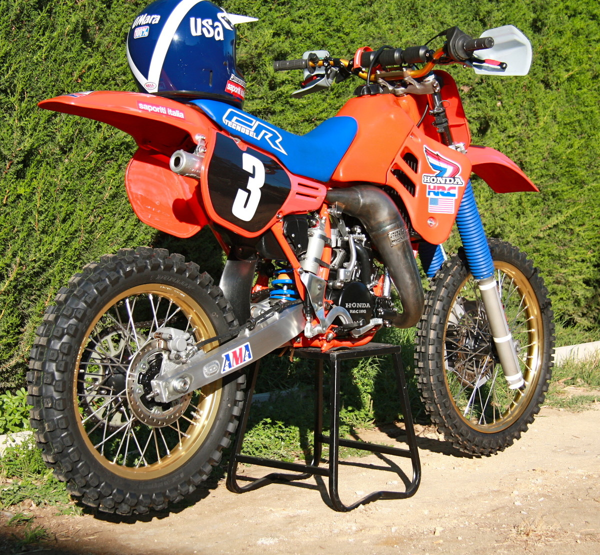 Honda Cr125 1986 Johnny O Mara Mxdn Replica Old School