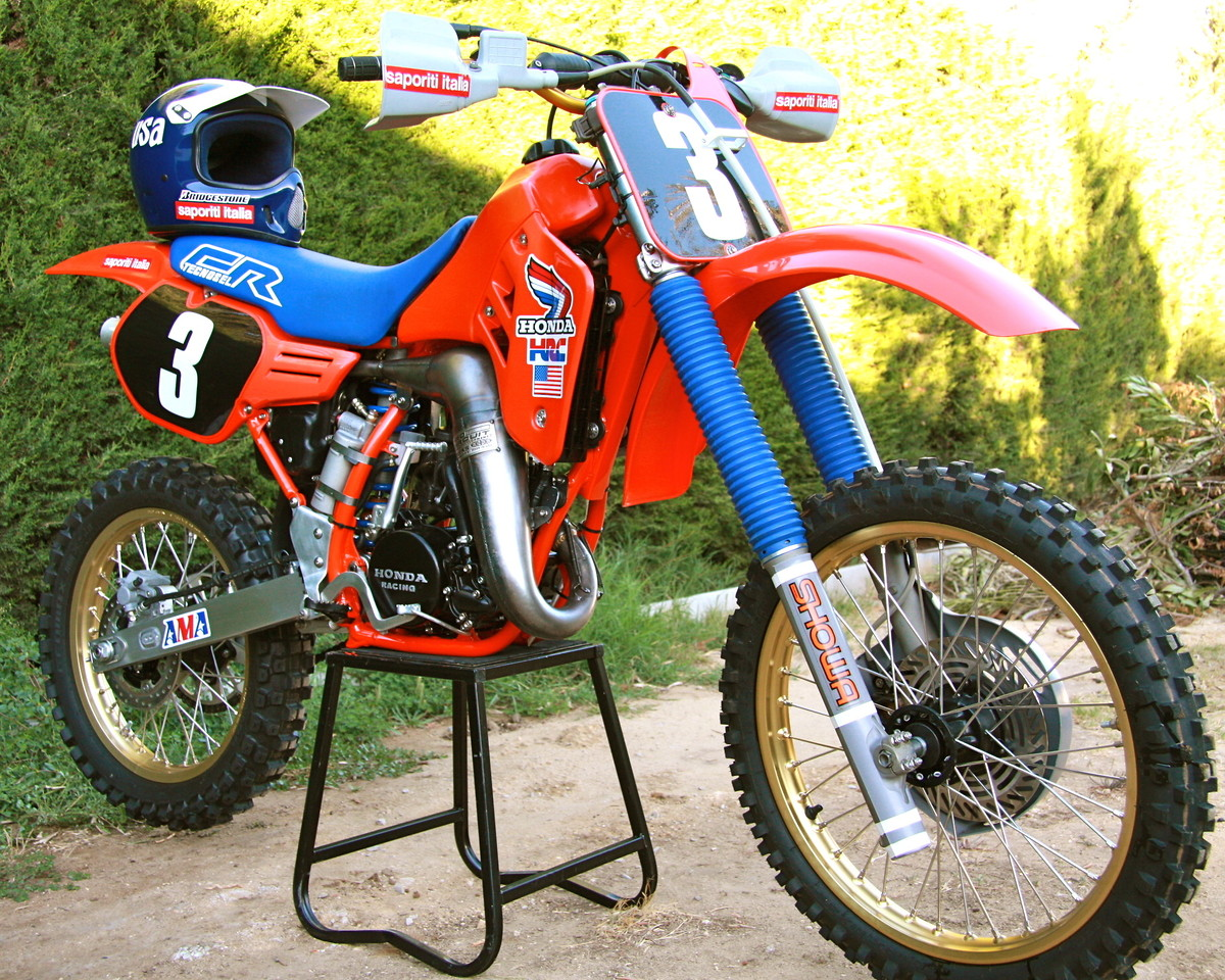 Honda Fairfield Ca >> Honda CR125 1986 Johnny O'Mara MXdN replica - Old School ...