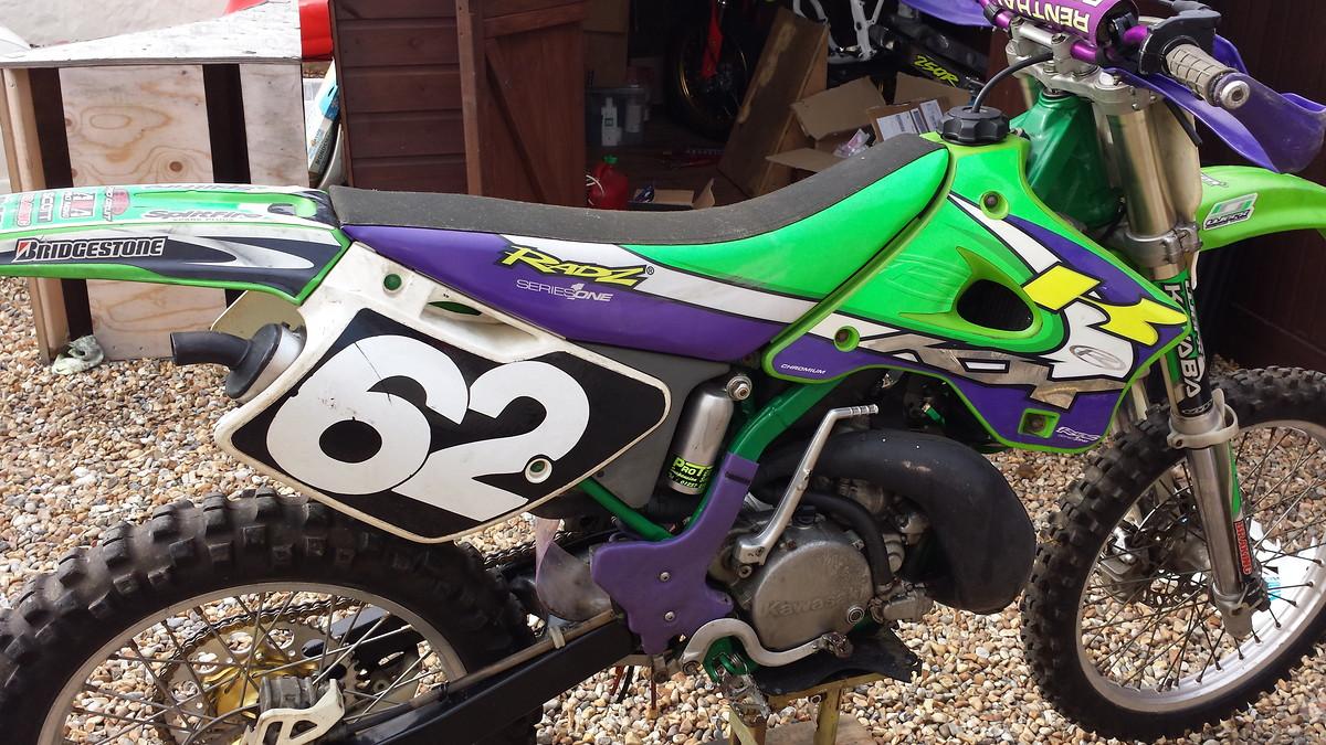 94 Kx 250 Donor Bike Found For Splitfire Project Old School Moto