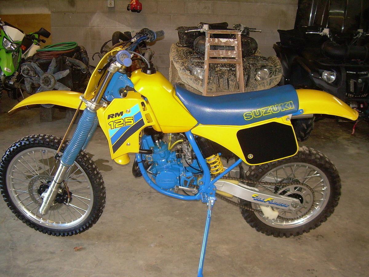 1986 Rm 125 Like New - Old School Moto