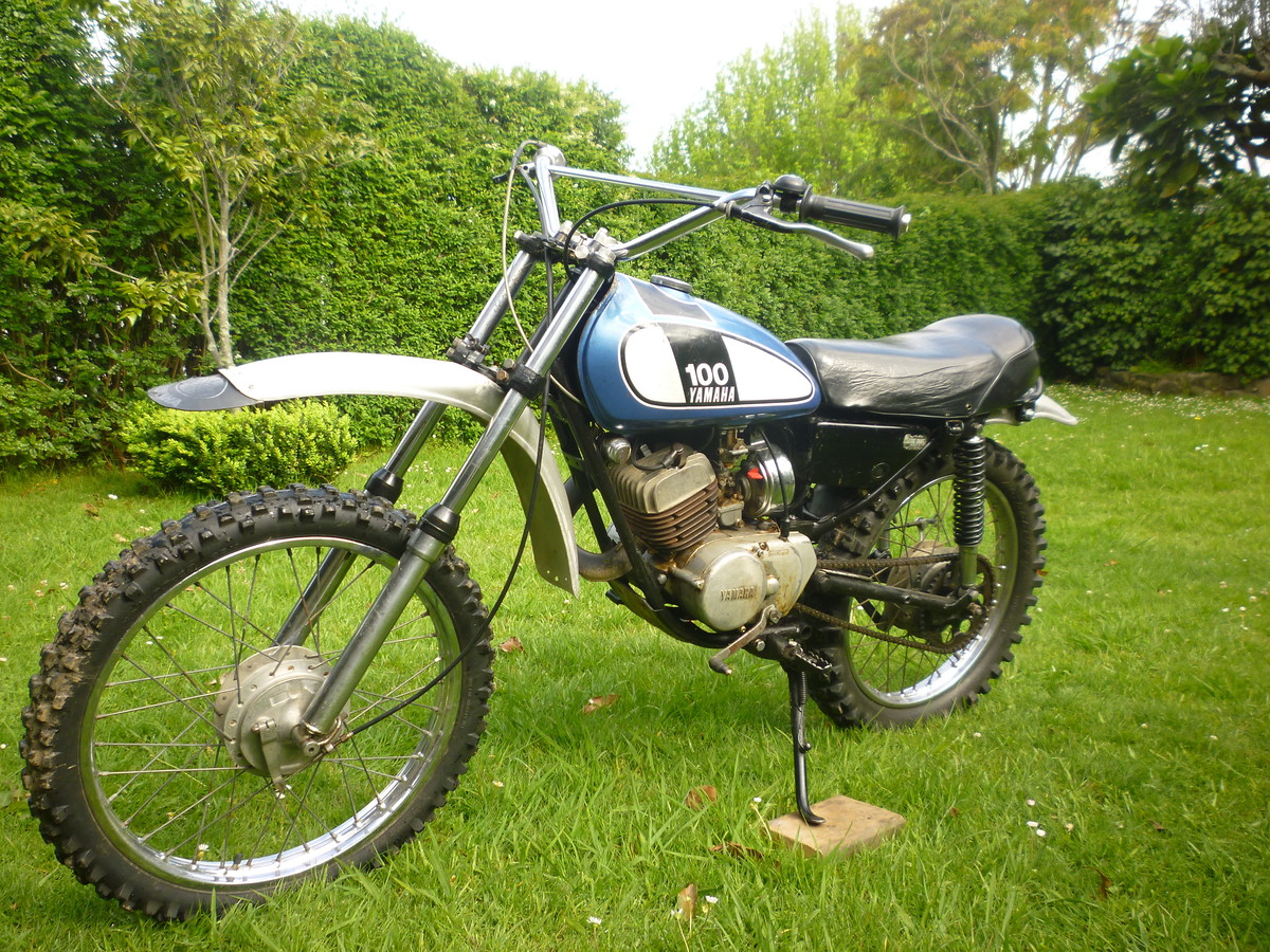 Yamaha 100 bike Unidentified. 1974? - Old School Moto - Motocross Forums /  Message Boards - Vital MX