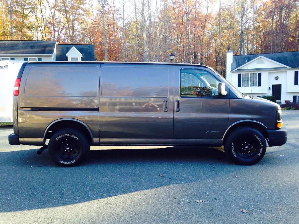 Chevy Express Van >> WTB moto van - For Sale/Bazaar - Motocross Forums ...