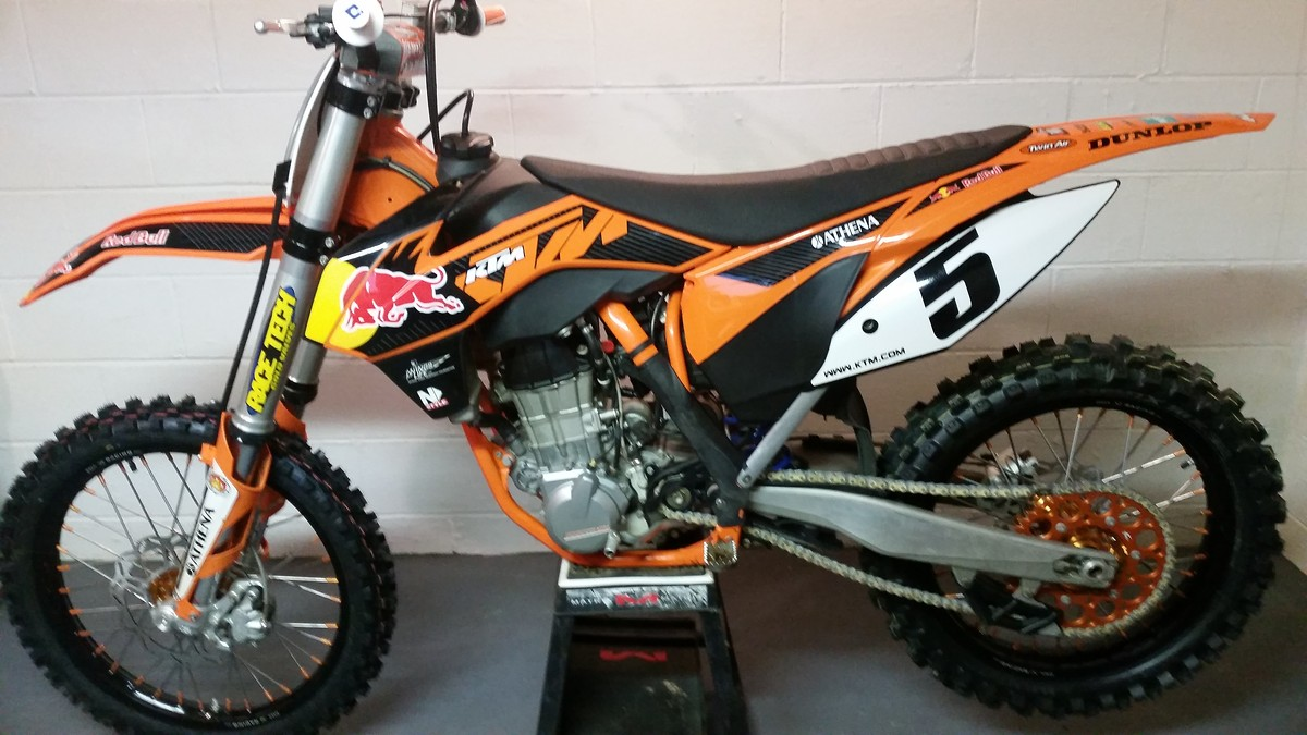 Ktm Sxf Factory Edition For Sale
