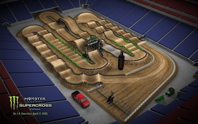Houston And Santa Clara Sx Track Maps Moto Related