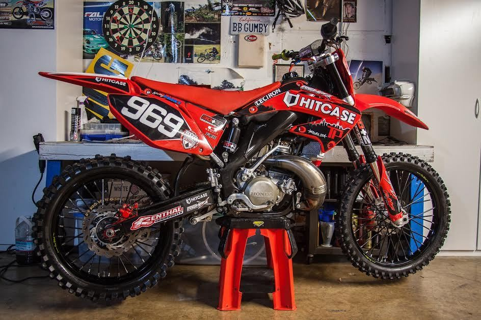 Cr250 Cr125 Restyle Kit Finally Woohoo 2002 2007 W