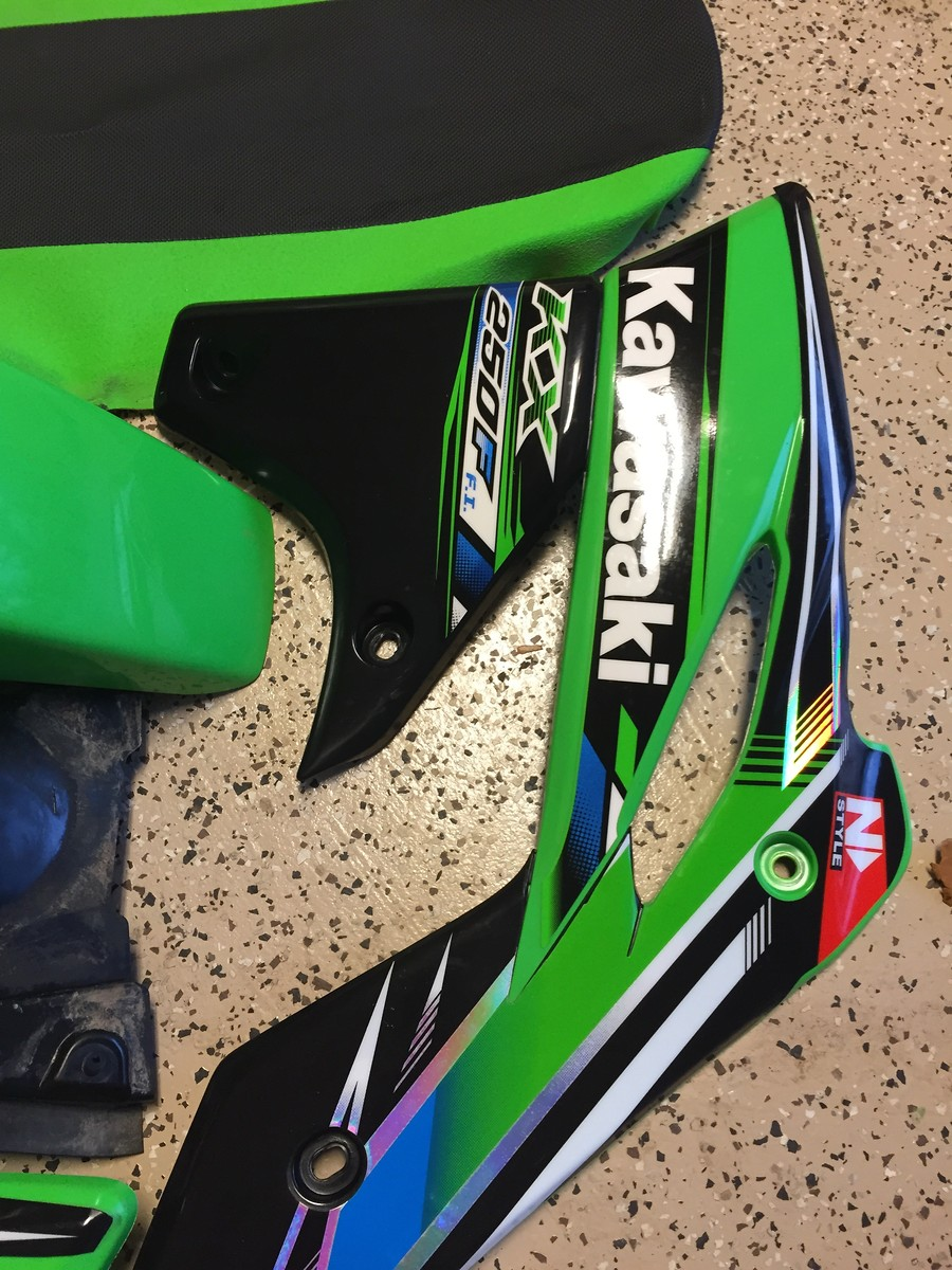 13 kx250f Oem plastic w/ pro circuit/monster graphics and ... | 900 x 1200 jpeg 294kB