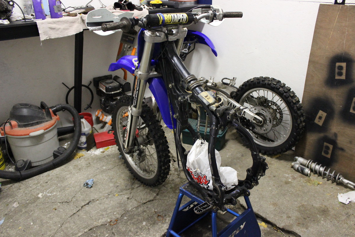 1988 yz250 clutch cable