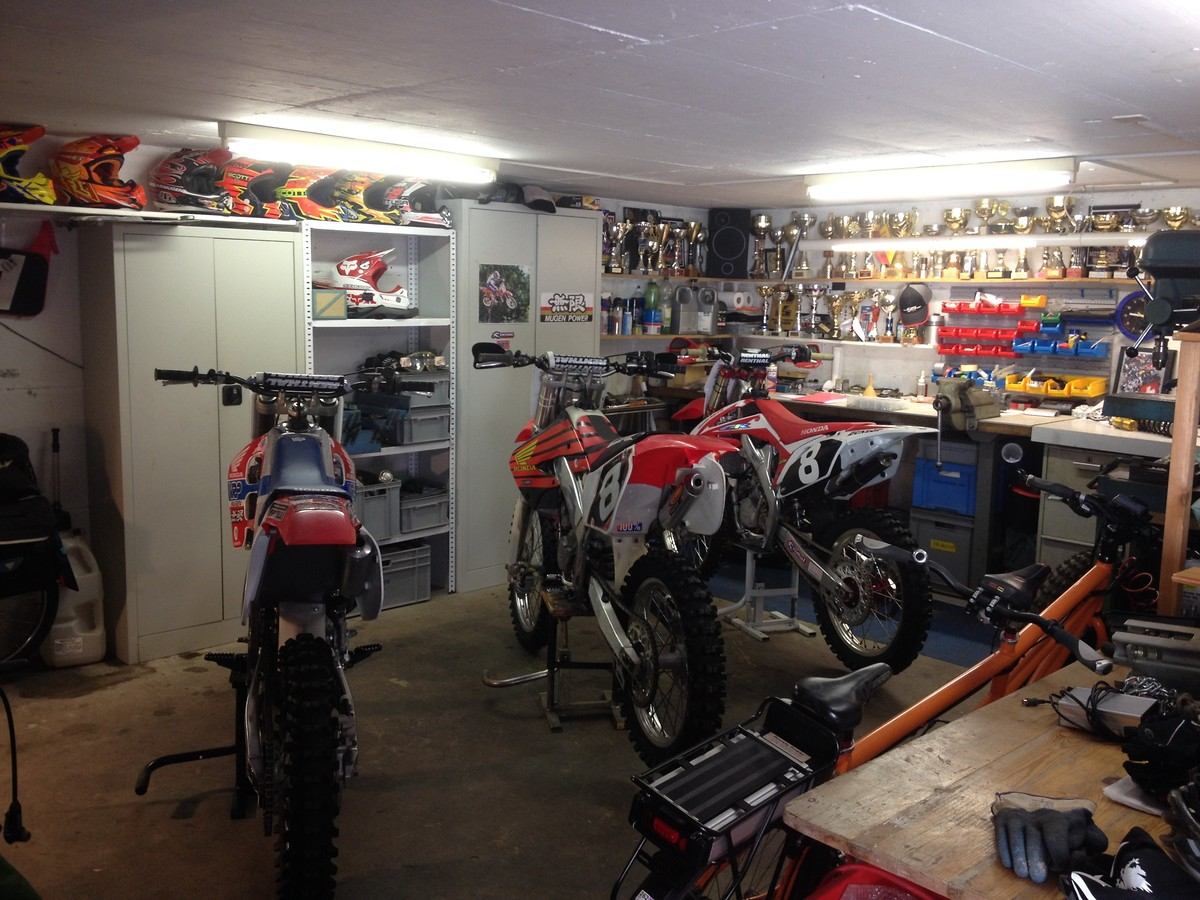 1990 vrp mugen 125 rebuilt old school moto motocross for Garage moto courbevoie