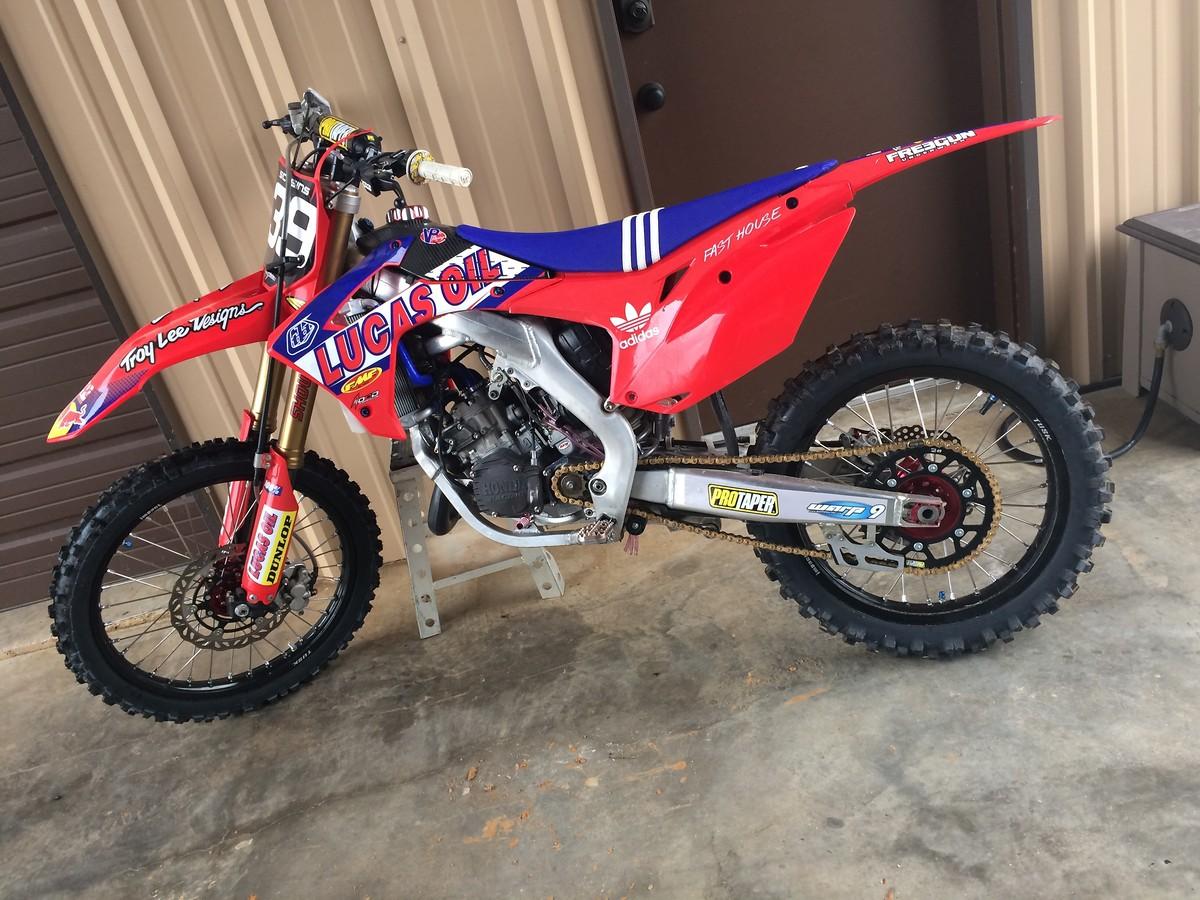 2014 Cr 125 Af For Sale For Sale Bazaar Motocross