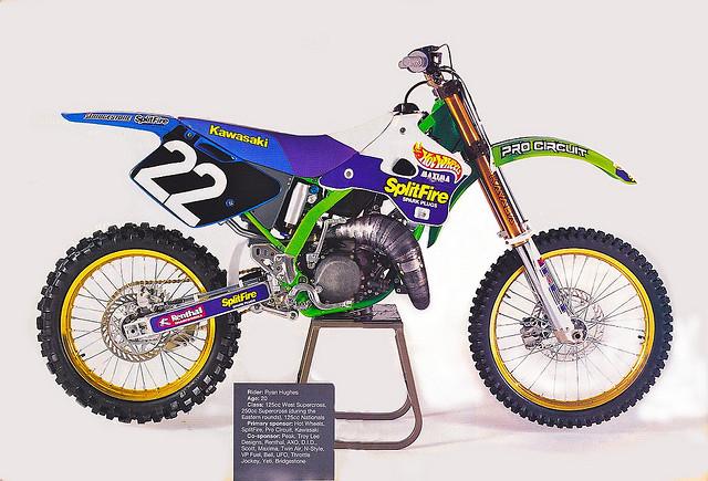 1994 Team Splitfire Pro Circuit KX 125 - Old School Moto ...