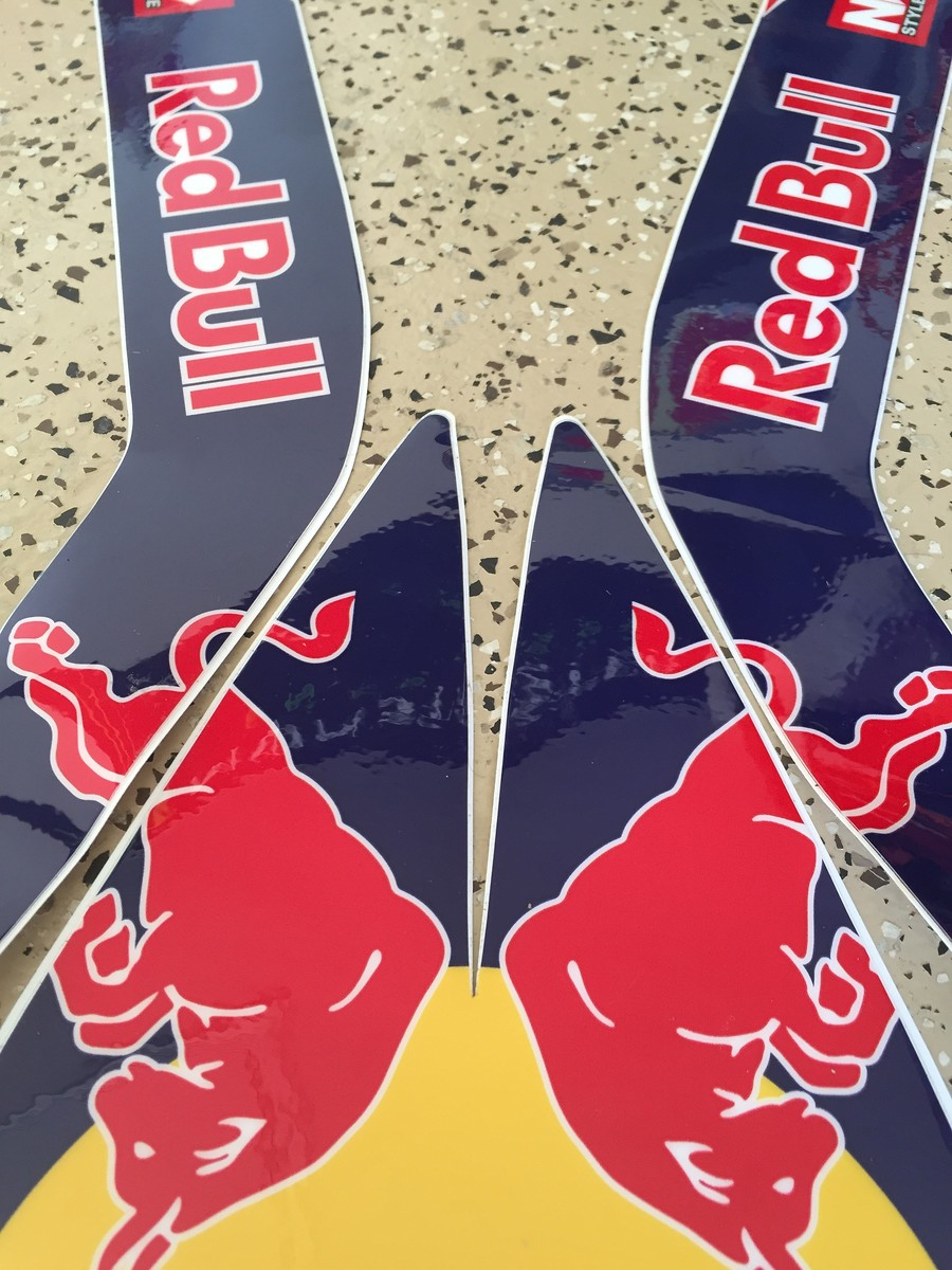 Red Bull KTM front fender graphic SOLD! - For Sale/Bazaar ...