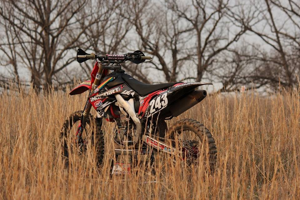 CRF250R or CRF450R set up for woods? - Moto-Related