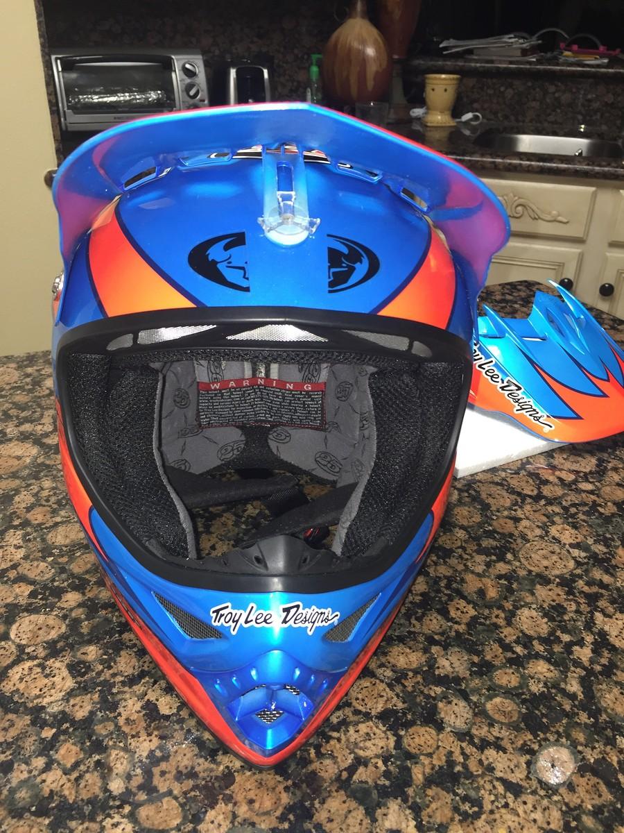 Troy Lee Designs Helmet >> Doug Henry troy Lee designs helmet. - For Sale/Bazaar - Motocross Forums / Message Boards - Vital MX