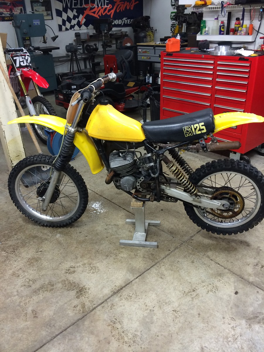 79 RM125 build - Old School Moto - Motocross Forums / Message Boards -  Vital MX