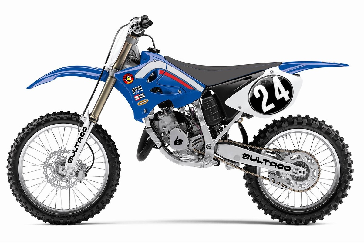 Buy Used Motorcycles >> A Bultaco'd YZ-125. (edit: added Red version) - Moto-Related - Motocross Forums / Message Boards ...