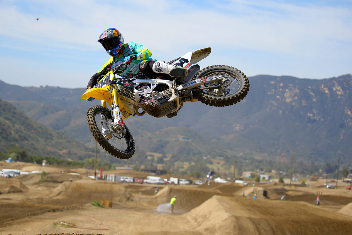 It was good to see Ken Roczen getting in some outdoor time ahead of his return to action after time off to let his ankle mend.