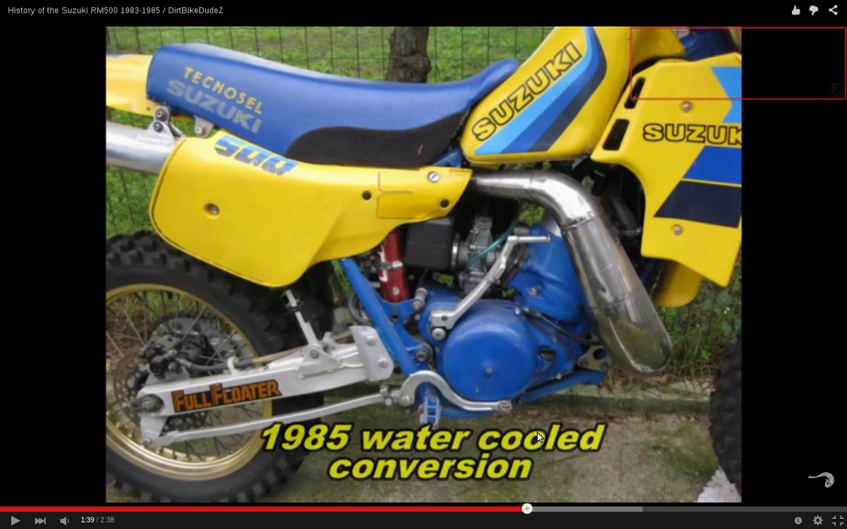 7d2e570edbcfb 1985 RM500 with liquid cooling - Old School Moto - Motocross Forums    Message Boards - Vital MX
