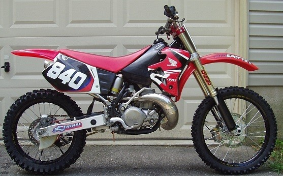 Cr 250 1996 Forks Converting Old School Moto Motocross