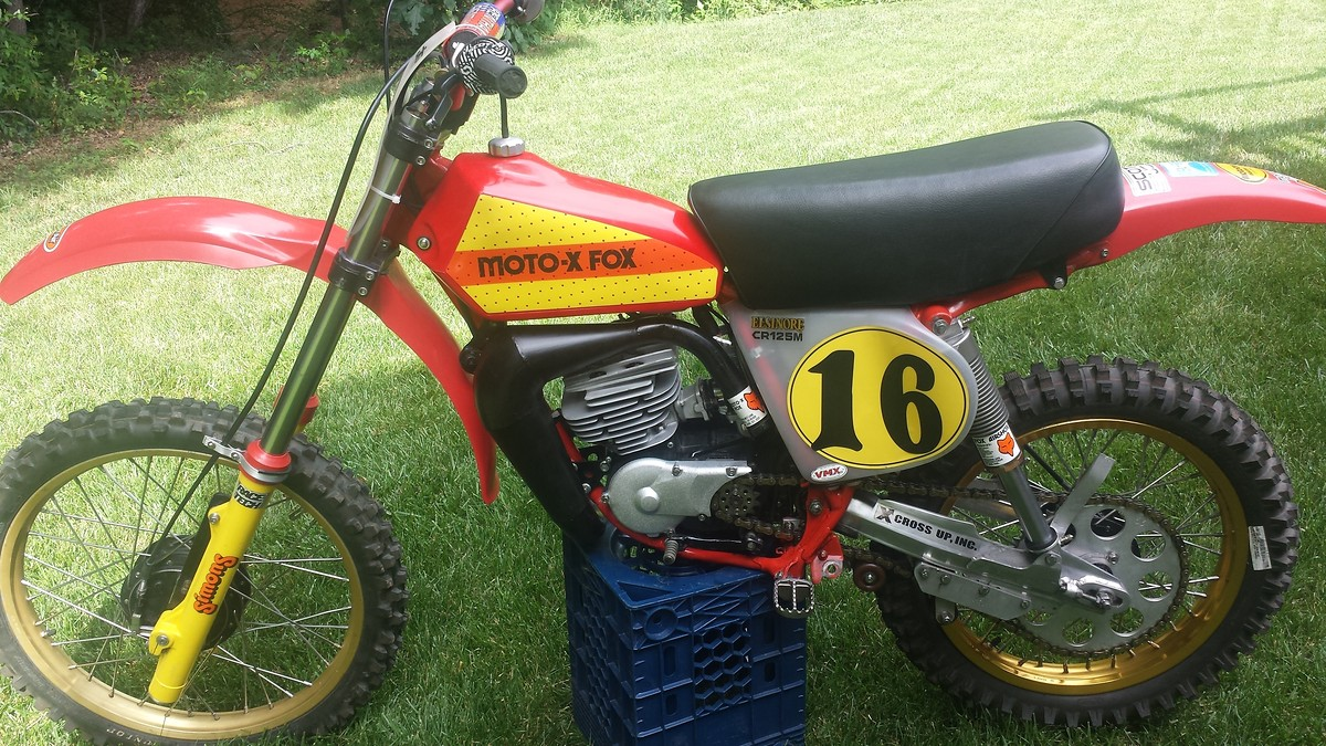 76 Honda Cr125 Elsinore Build Old School Moto Motocross Forums Mt125 Wiring Diagram 4th Gear In Fact You Really Have To Pay Attention Or The Bike Will Get Away From More Come On This But Here Are Some Photos I Took Today Mike