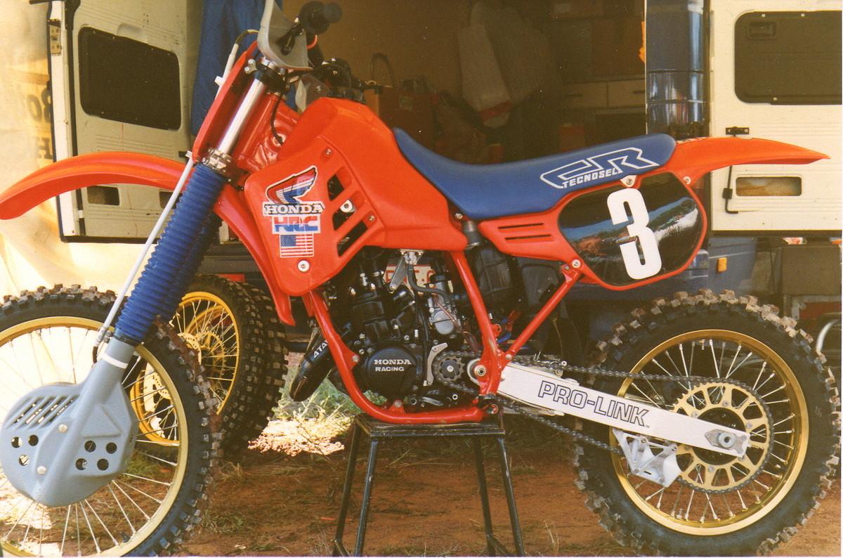 Honda CR125 1986 Johnny O'Mara MXdN replica - Old School ...