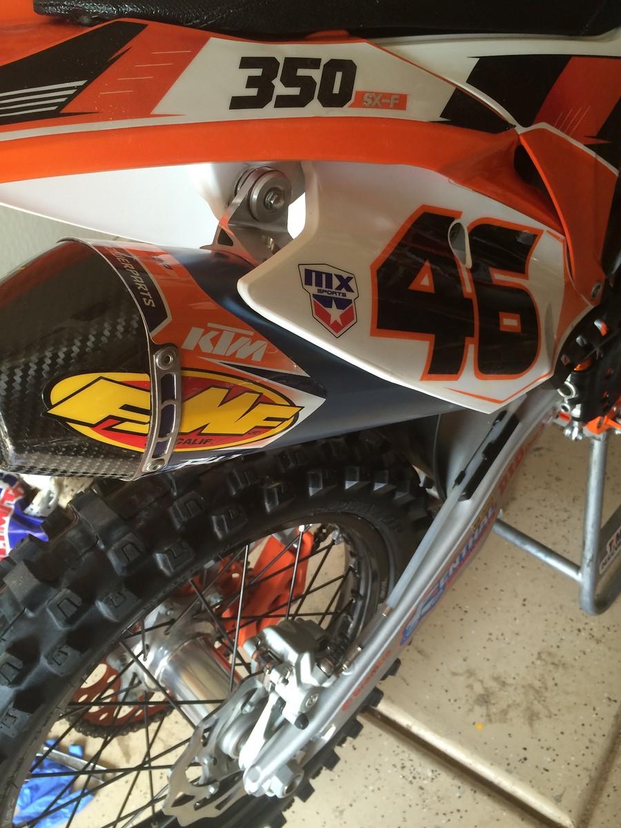 15 KTM 350sxf exhaust? - Moto-Related - Motocross Forums