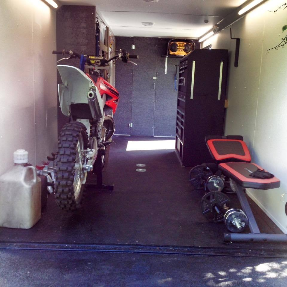 Enclosed Trailer Questions Moto Related Motocross