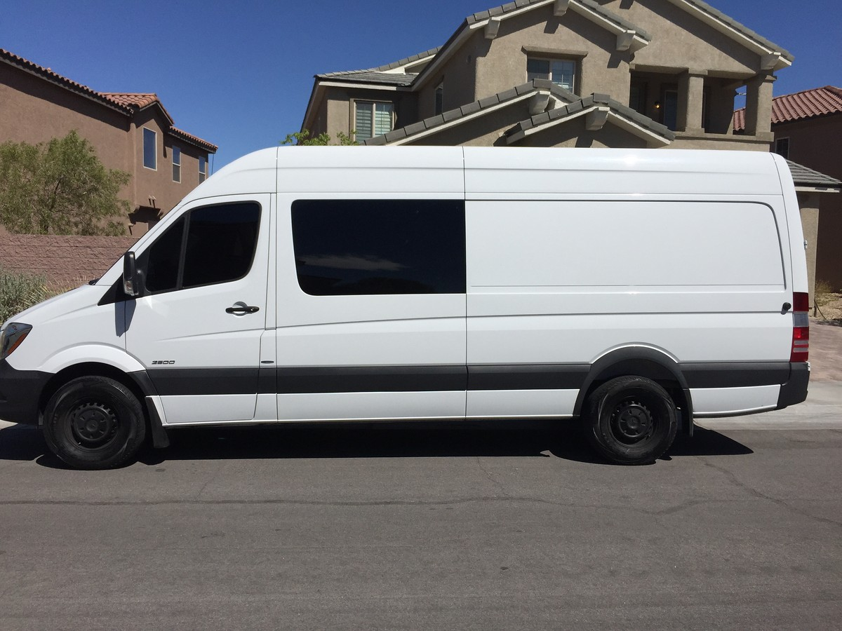 2014 Mercedes Benz Crew Van Sprinter 170wb 36 000 For