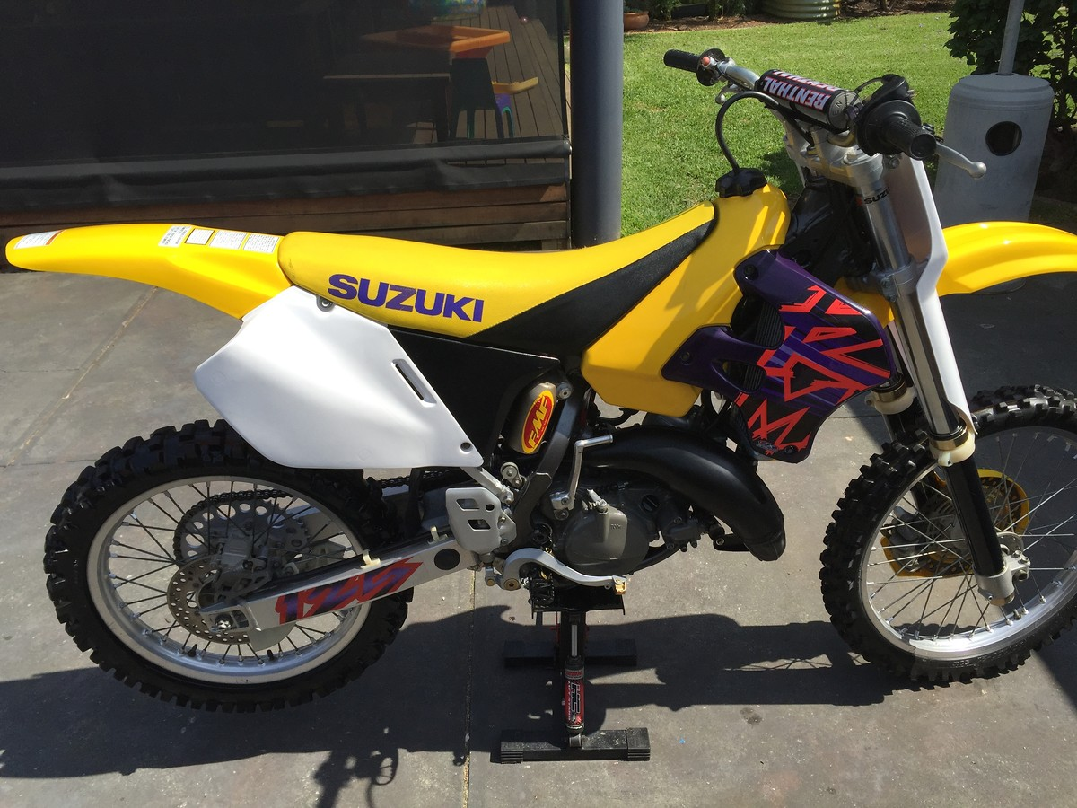 1996 suzuki rm 125 old school moto motocross forums message boards vital mx. Black Bedroom Furniture Sets. Home Design Ideas