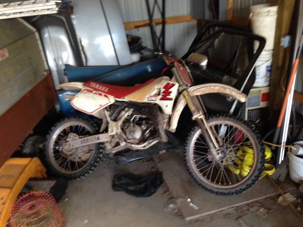 1989 YZ125 - Should I? - Old School Moto - Motocross Forums