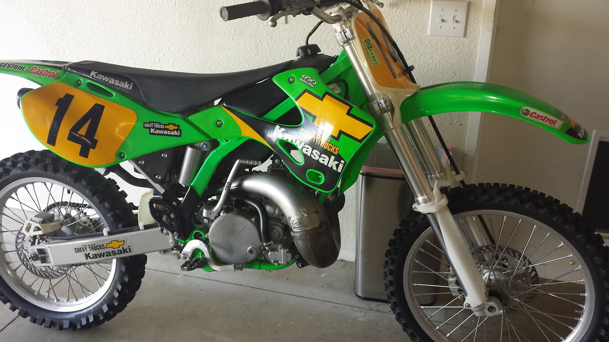 Factory Kx 250 With No Vin Moto Related Motocross Forums Kawasaki Kx250 Wiring Harness Message Boards Vital Mx