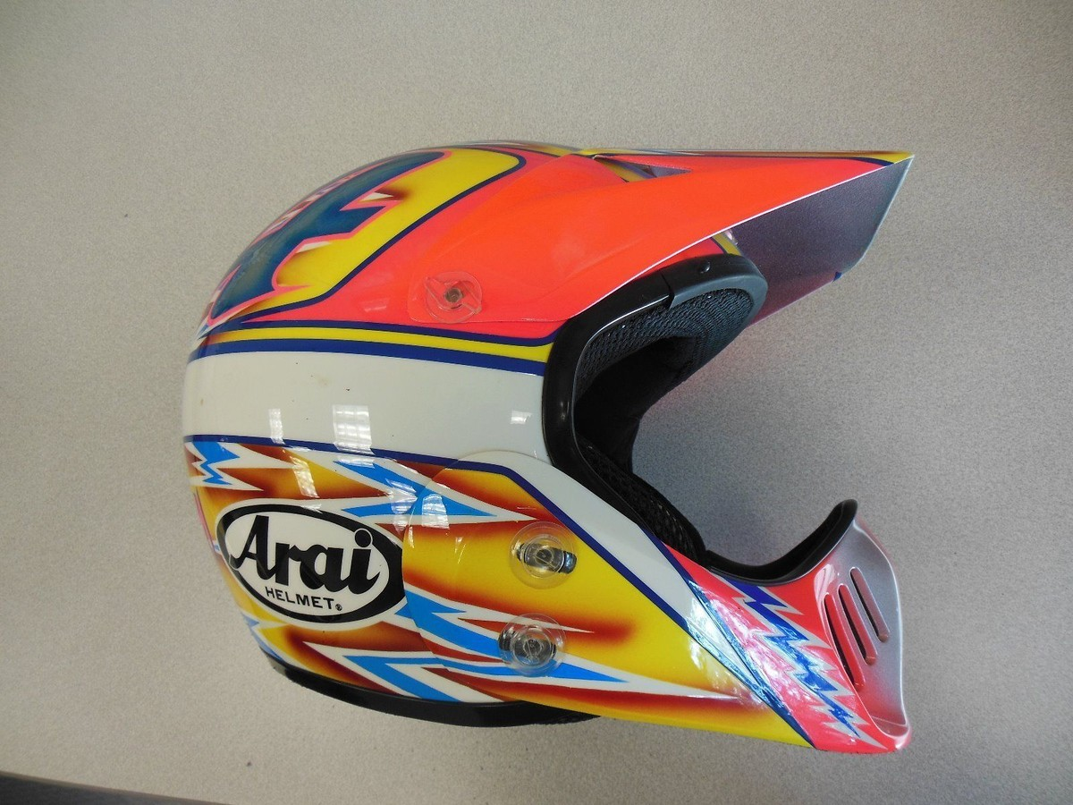 80's & 90's Custom painted helmets of the stars - Moto ...