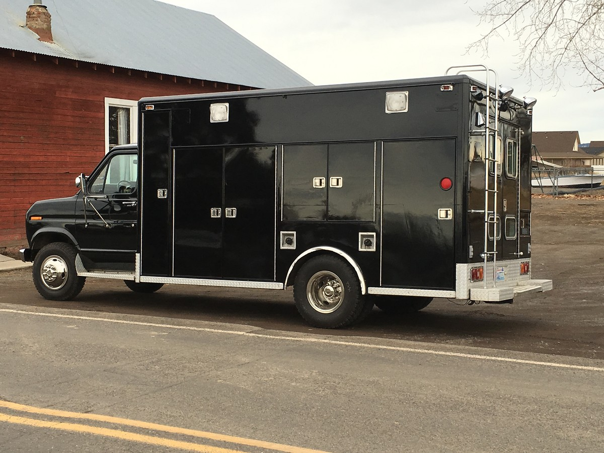 Ambulance Moto Van build - Tech Help/Race Shop - Motocross ...