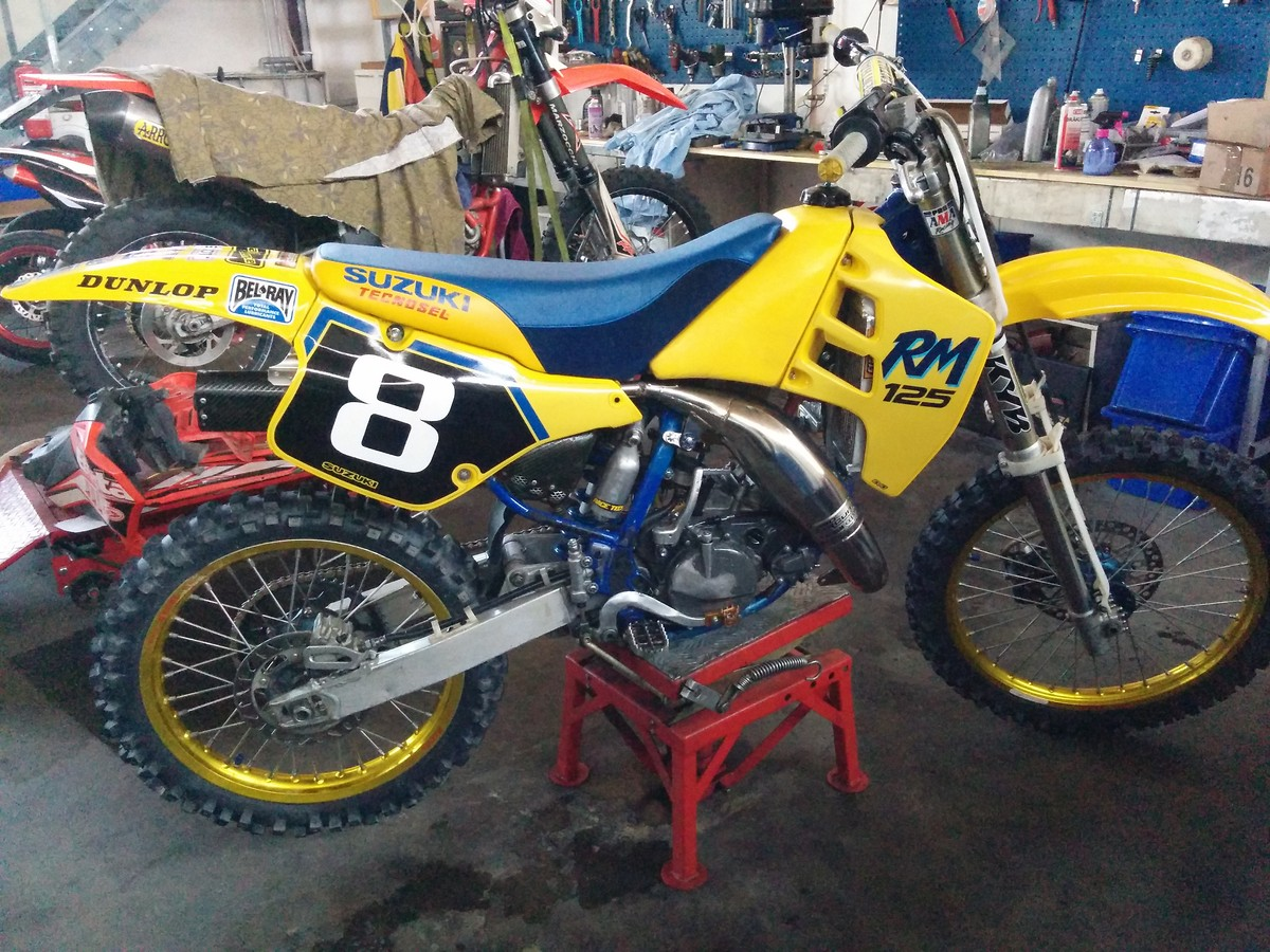 suzuki rm 125 1990 evo old school moto motocross forums message boards vital mx. Black Bedroom Furniture Sets. Home Design Ideas
