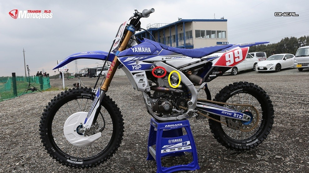 Yz250f Vs Yz450f In Pro Racing Moto Related Motocross