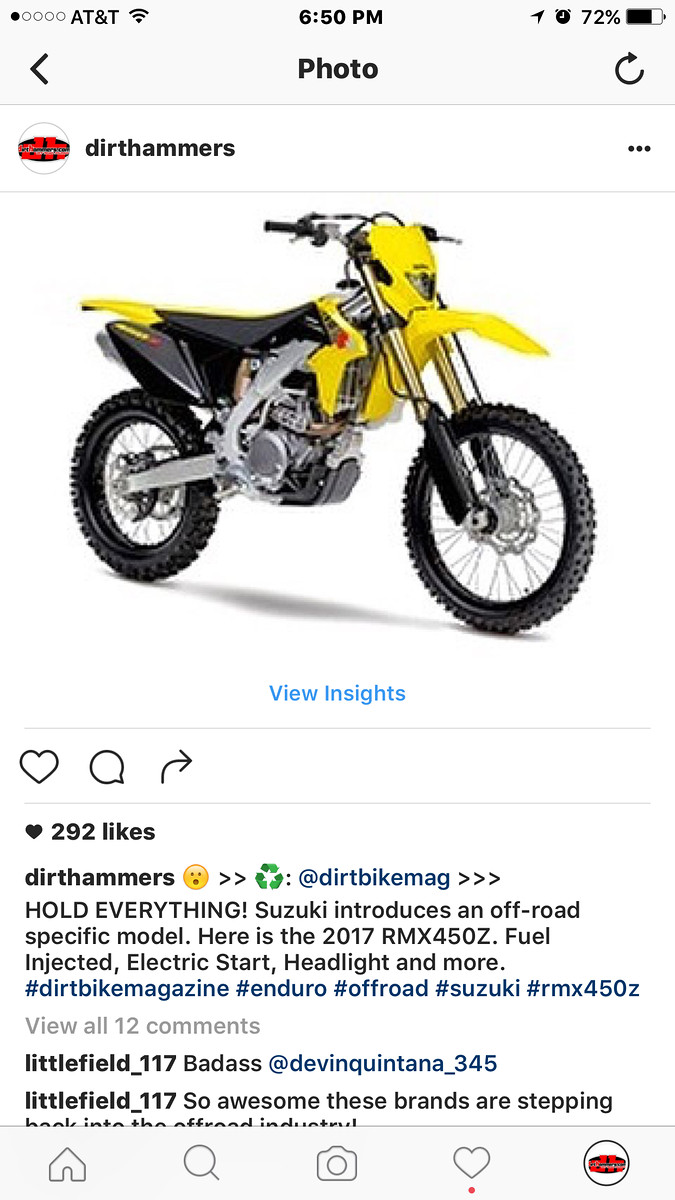 2017 rmz 450 moto related motocross forums message boards rh vitalmx com 2017 Suzuki RMX450Z suzuki rmx450z workshop manual