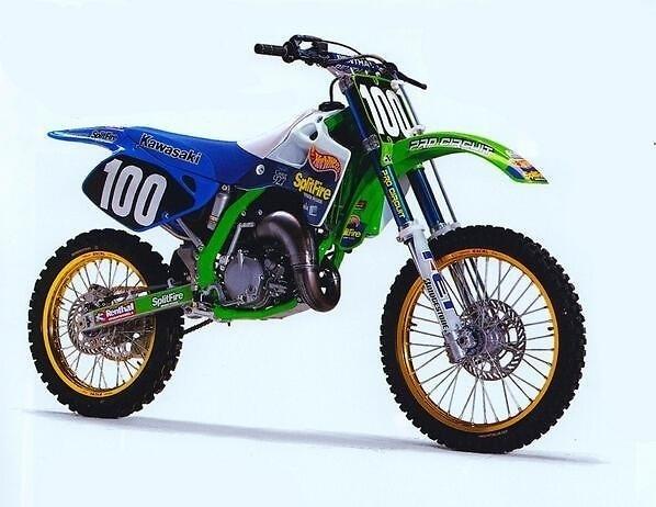 1994 Team Splitfire Pro Circuit Kx 125 Old School Moto