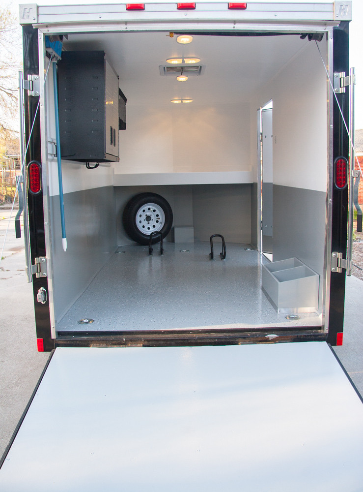 Enclosed Trailer Set Up Moto Related Motocross Forums