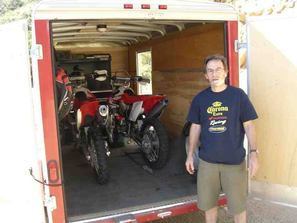Anyone Using A 5x8 Enclosed Trailer Moto Related
