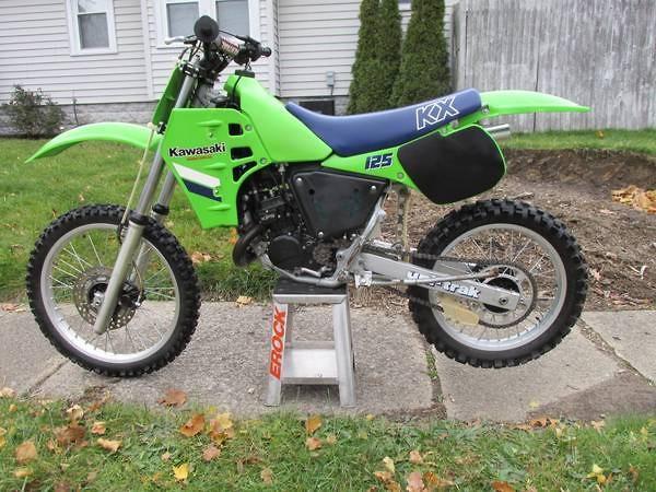 original 1985 kx125 for sale old school moto motocross. Black Bedroom Furniture Sets. Home Design Ideas
