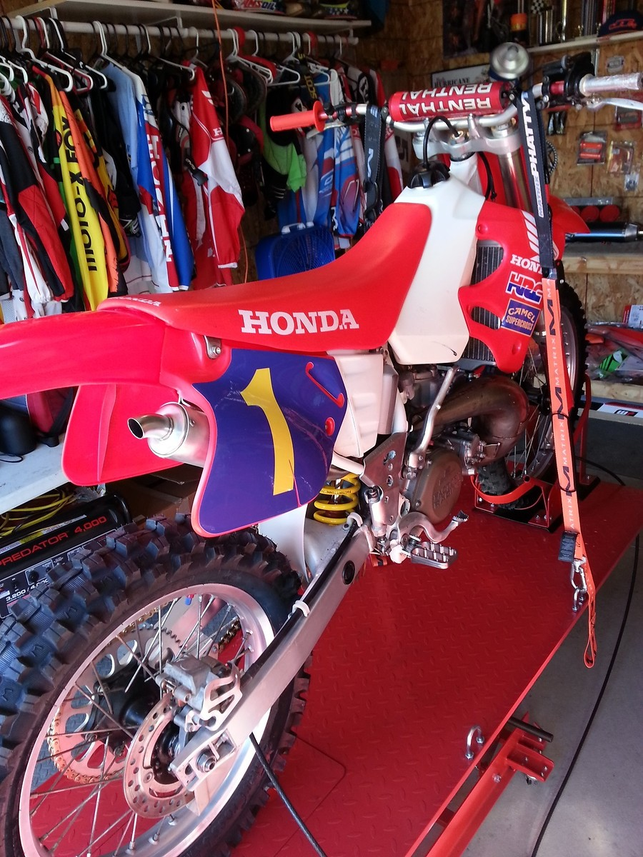 Rear Brake Disc Motorcycle Honda CR250 CR250R 1992-1994 92-94 Motorbike